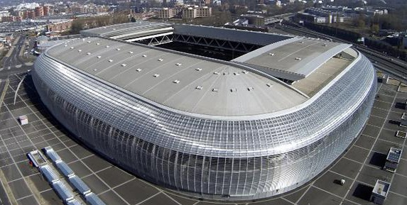 Stade Pierre-Mauroy, Lille, Euro 2016 stadiony